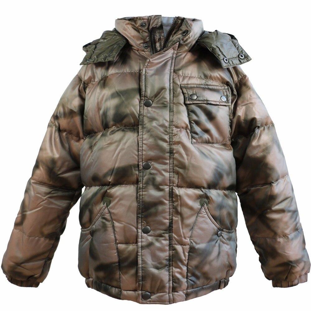 Gros garçons chaud hiver bas manteau épaississement survêtement coupe-vent vêtements d'extérieur épaissir Parkas garçons vestes hiver manteau 4C0577