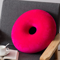 Round Seat Cushions Slow Rebound Memory Foam Breathable Ring Donut Rest Pillow Office Home Chair Nap Pillow Sitting Pads