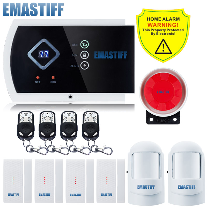 new Wireless Upgrade new built-in antenna sensor voice home intruder Quad Band with IOS android APP control gsm alarm system narrow band 470m rs232 2w antenna with hpd8507e 470 rs232 wireless transceiver module