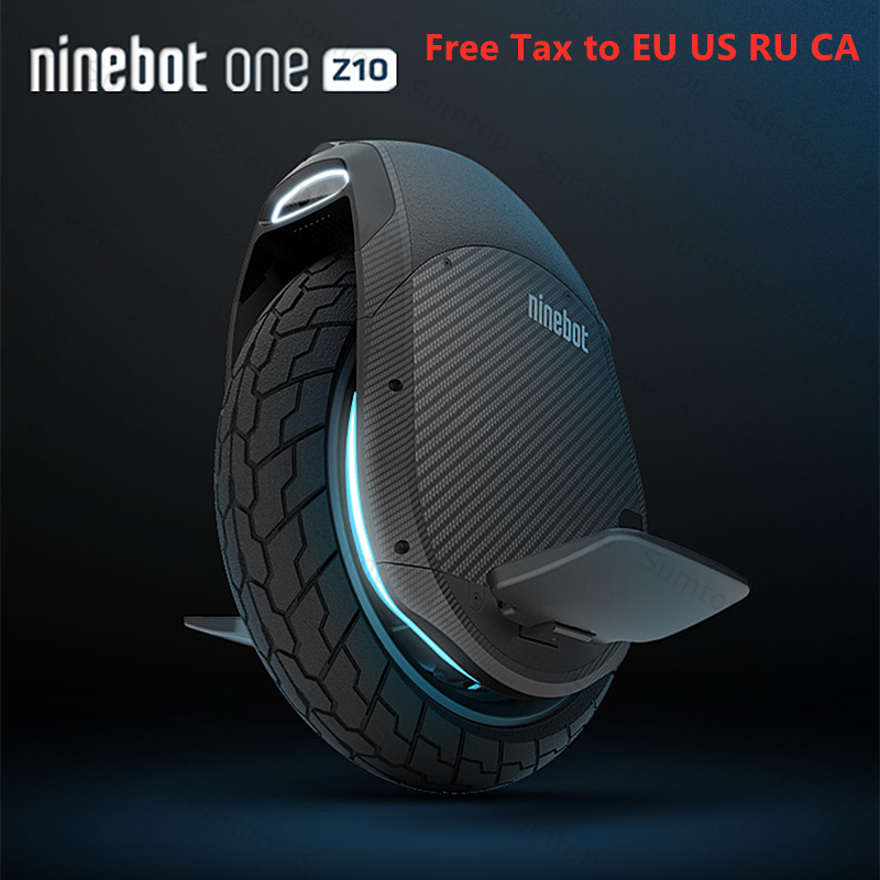 2019 Original Ninebot One Z10 Z6 auto équilibrage Scooter électrique 45 km/h Support Bluetooth APP pliable monocycle moteur Hoverboard