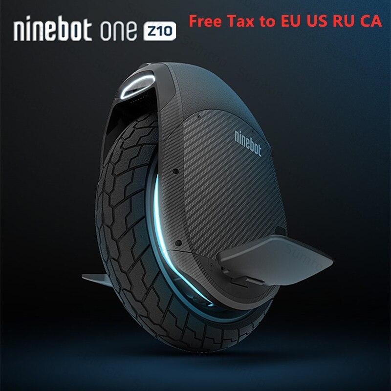 2019 Original Ninebot One Z10 Z6 auto équilibrage Scooter électrique 45 km/h Support Bluetooth APP pliable monocycle moteur Hoverboard