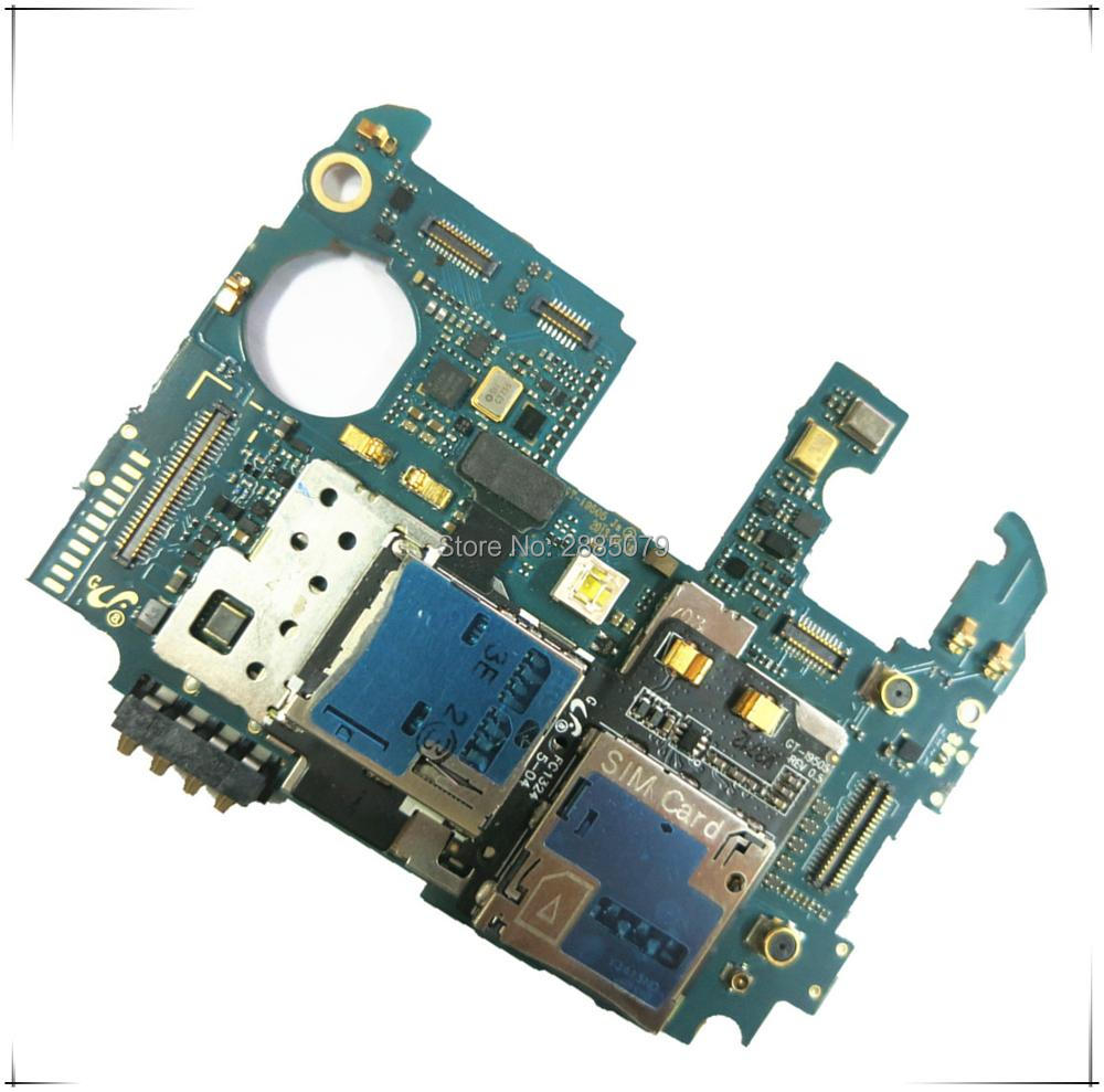 цена на 95% new work Europea version original unlocked motherboard for samsung Galaxy S4 i9505 main system board with chips