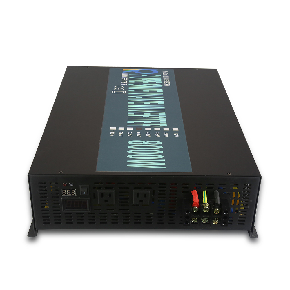 8000w Solar Panel Inverter 12v 220v Pure Sine Wave Power How To Build A100 Watt Circuit Electronic Supply Voltage Converter 24v 48v Dc 120v 230v 240v Ac In Inverters Converters