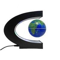 新しいc形状磁気浮上浮動地球