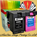 63 63XL INK Black & Color Для HP 63 XL ЧЕРНИЛА HP DeskJet 1112 2132 3632 3630 2130 ЧЕРНИЛ Принтера ns64