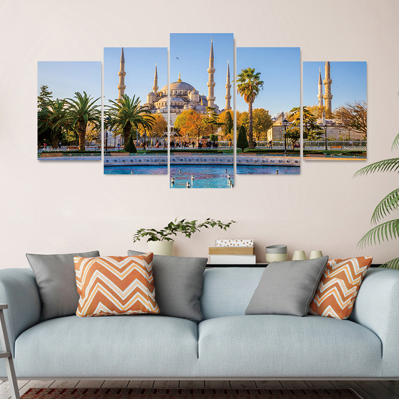 Photo Wallpaper Beautiful City Sunset Landscape Art Photography Background Wall 3D Mural Dining Room Home Decor(China)