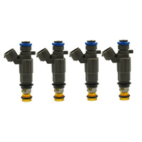 4x Fuel Injectors Flow Tested & Cleaned For Subaru Baja Legacy 2.5L FBLC 100