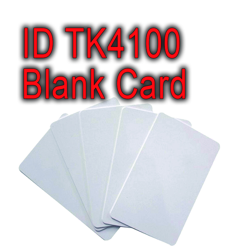 100pcs read only 125khz id card with uid number printed rfid blank white card without printing smart contactless id/ic pvc tag цены онлайн