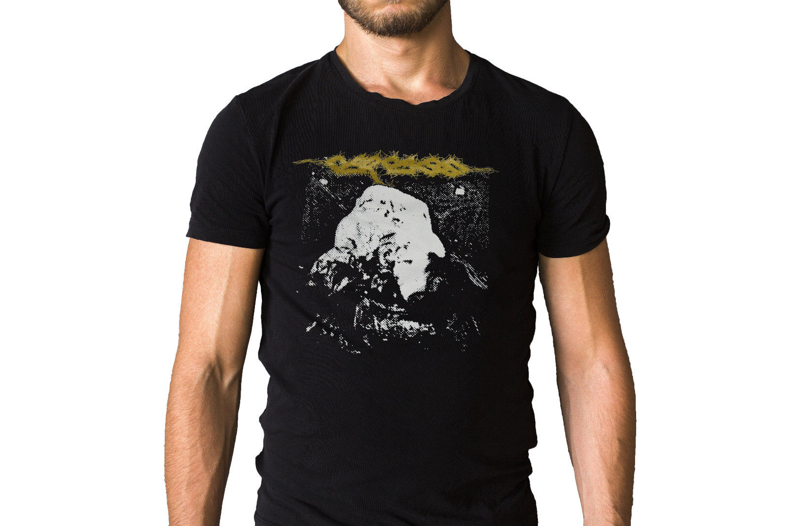 Carcass Symphonies of Sickness 1989 Album Cover T-Shirt 2018 New Short Sleeve Men T Shirt Round Neck Crazy Top Tee