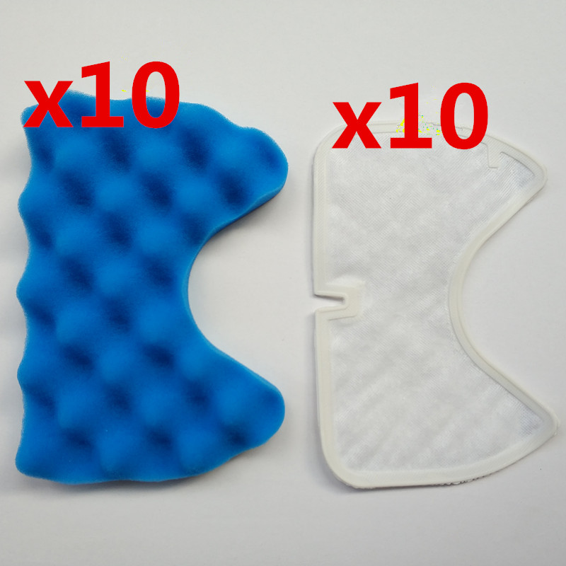 10 sets of high quality vacuum cleaner filter Hepa Part for Samsung Cup DJ97-01158A SC6750 vacuum cleaner dust filter filter hepa of wp601 accessories of puppyoo vacuum cleaner
