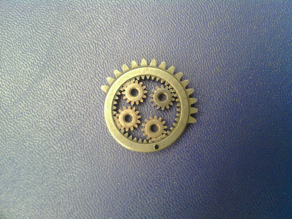 The 0.5 module of the 40T gear one,14T gear 0.5 module four the darlington module of the sk50da120d 50a1200v