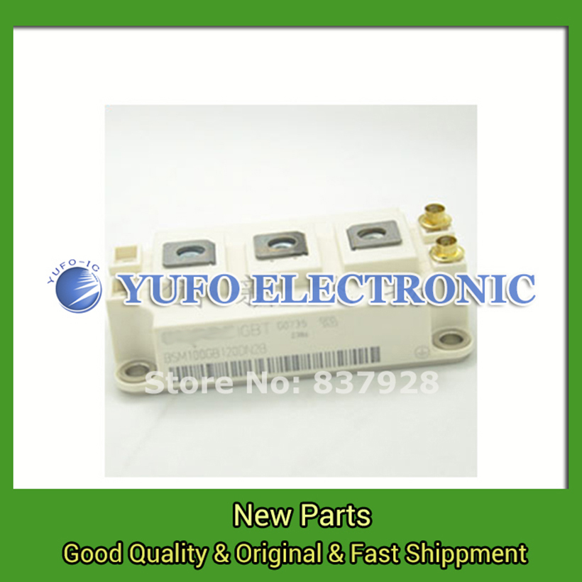 Free Shipping 1PCS  Ying Fei Lingou BSM100GB120DN2B Parker power module genuine original spot Special supply YF0617 relay 2mbi100n 120 genuine power igbt module spot xzqjd