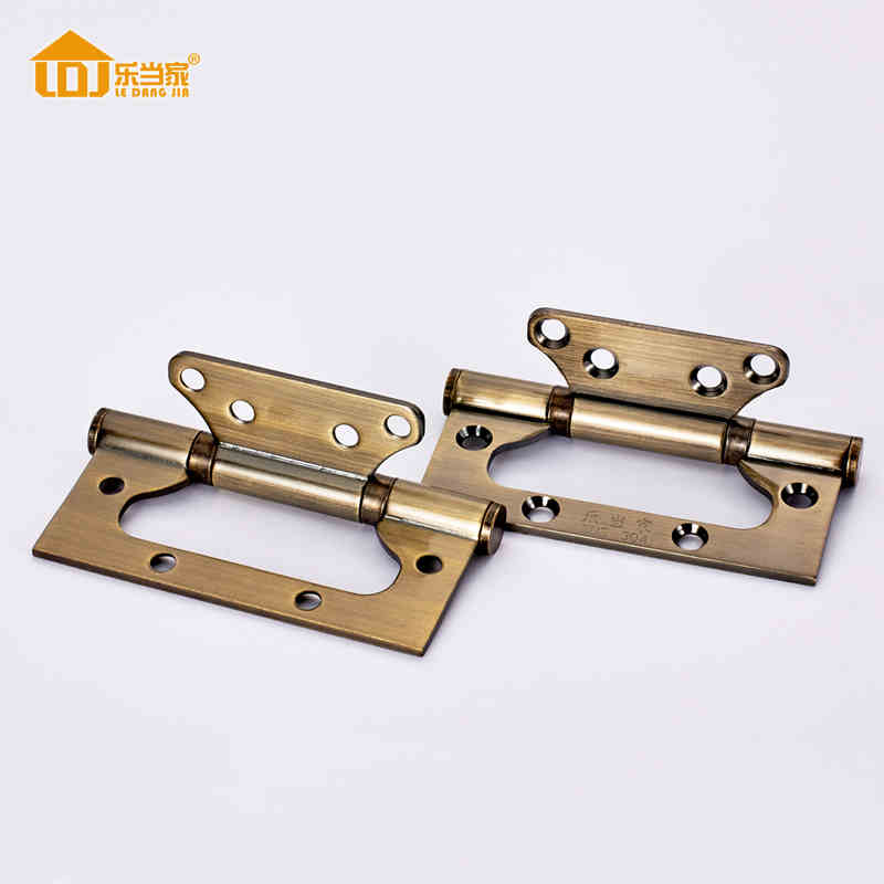 NEW Door Hinges Mortise Wooden Hinge Spring Stainless Steel Son Mother The Cupboard Cabinet Door Bearing Hinge 4 Inches 1 pair viborg sus304 stainless steel heavy duty self closing invisible spring closer door hinge invisible hinges jv4 gs58b
