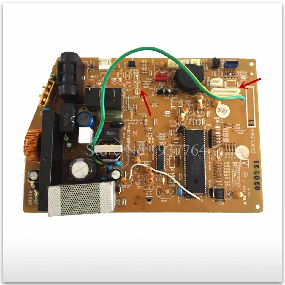 95% new used for Air conditioning computer board MSH-J18SV DE00N238B SE76A766G01 good working air conditioning computer board juk7 820 197 ver1 0 12 25 2002 used disassemble