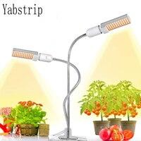 Yabstrip Фито лампа 5 в USB Диммируемый полный спектр Led растение светать лампа для внутреннего Тепличный цветок рассады fitolampy