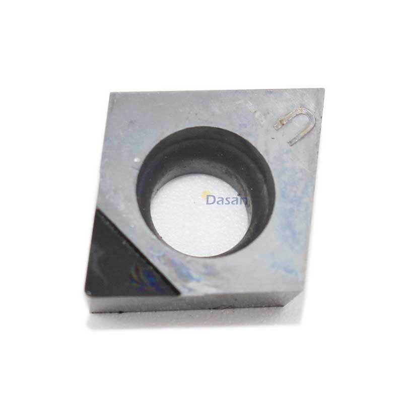 CCGT09T304 CBN PCD Inserts CCGT 09T308 02 High Hardness Lathe Diamond Insert Internal Turning Tools Aluminumm Copper Tool