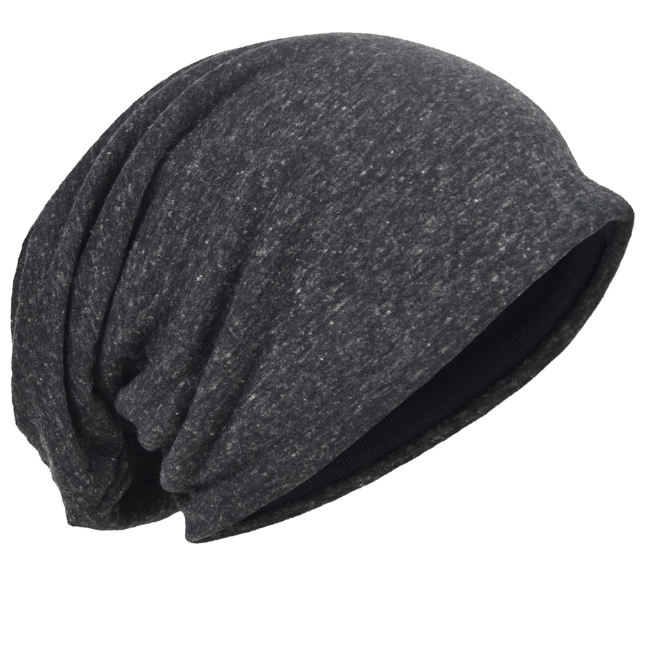 Jersey Slouchy Beanie Skull Cap Long Baggy Cool Hip-hop Skullcap Soft Thin Summer Hat for Men Women B302 mens summer cap thin beanie cool skullcap hip hop casual hat forbusite