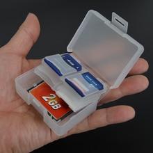 Утепленная портативная герметичная 8 sd-карта + 1 коробка для хранения cf-карт для Nikon Canon Sjcam Sony Eken VCR, аксессуары для экшн-видеокамер