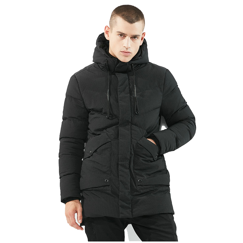 High Quality Winter Jacket Men Thick Warm Hooded Casual Parka Men Long Winter Coat For Men