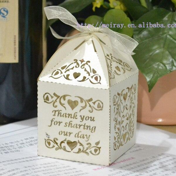 wedding souvenir box,party favor bags,laser cut love vines sweet ...