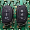 Free Shipping Original Size IX25 3 Buttons Car Smart Remote Key 433Mhz Inside ID70 Chip For Hyundai IX25