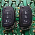 Frete Grátis Original Tamanho IX25 3 Botões Carro Remoto Chave Inteligente 433 Mhz Dentro Chip Para Hyundai IX25 ID70