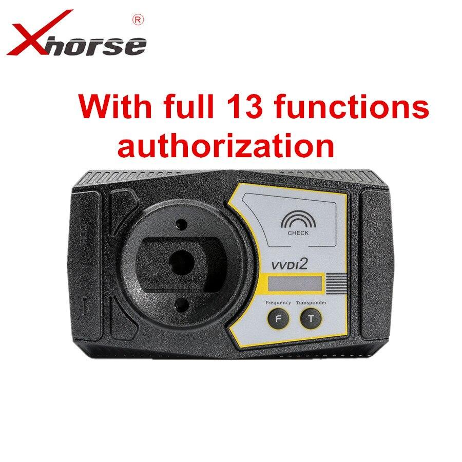 Xhorse V6.1.1 VVDI2 Versão Completa Para V-W/Audi/BMW/Porsche/PSA Plus Para BMW FEM BDC 96bit ID48 ID48 OBDII MQB Todos Autorização