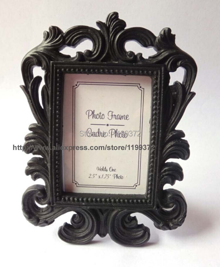 500pcs/lot Black Or White Color Ornate Baroque Style Photo Picture ...
