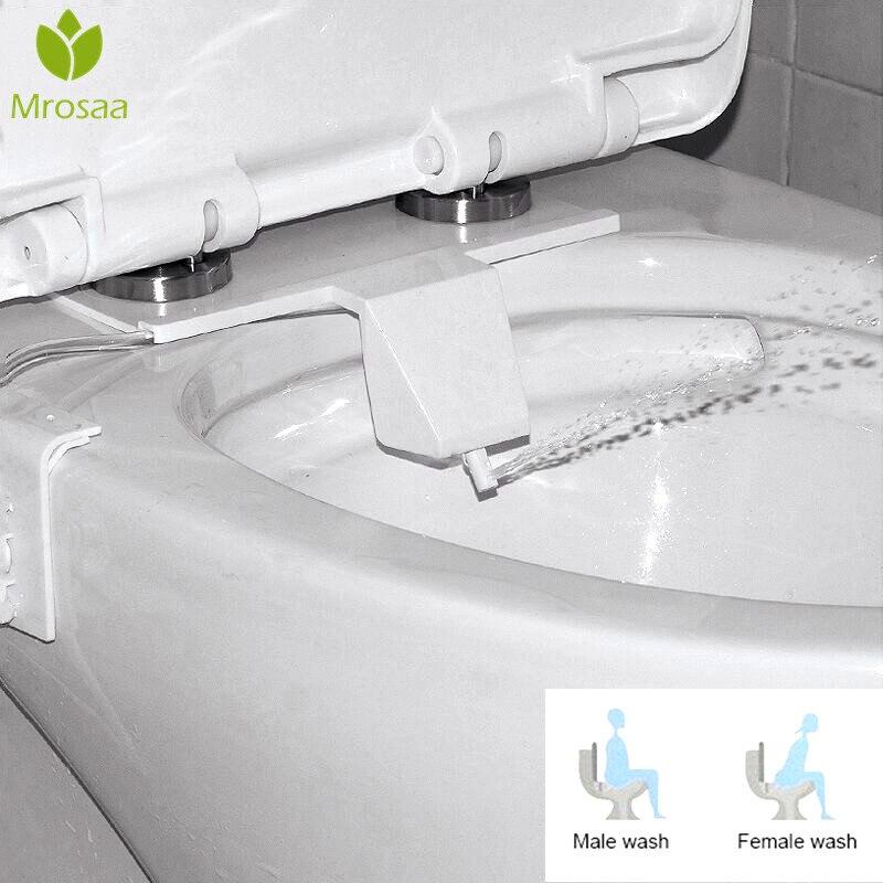 Mrosaa Home Bathroom Universal Type Simple Using Toilet Spray Bidet Female Hygeian Flushing Device Single Toilet Sprayer Nozzle