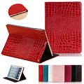 Stand crocodile grain flip leather Case Cover For Ipad 2 3 4 tablet fundas cases for ipad 4 ipad 3 ipad 2 + Screen Protector