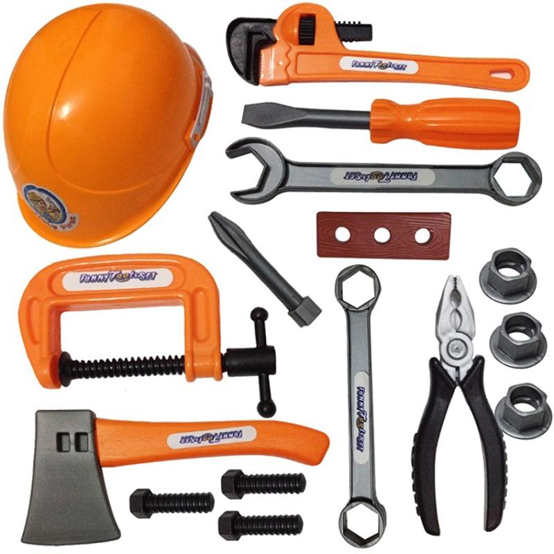 Plastic Toy Tools : Pcs educational baby plastic toys carpenter tools