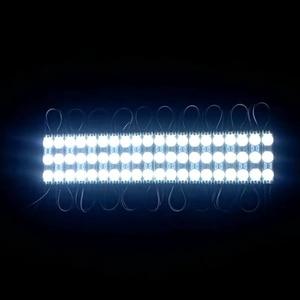Image 2 - 1000 шт./лот холодный белый 2835 3 светодиода впрыскиваемый светодиодный модуль 12 В с объективом водонепроницаемые IP66 1,2 Вт светодиодные модули освещение для магазина баннера