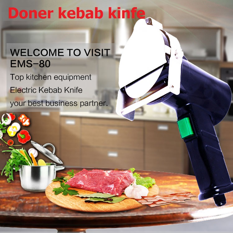2016 New Professional quality guaranteed hot sale doner kebab slicer Electrical kebab font b knife b