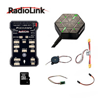 Radiolink PIXHAWK Flight Controller WIth M8N GPS Supported By AT9\AT10 II Buzzer 4G SD Card Telemetry Module Mounting foam