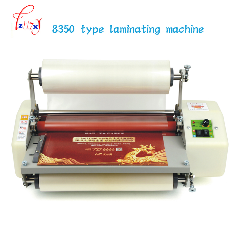 8350 paper laminator machine A3+ laminating machine 13 Laminator Four Rollers  cold roll laminator 220v 1pc a3 a4 cold roll laminator laminating machine 4 roller system photo laminator lk4 320 220v 300w cold laminator
