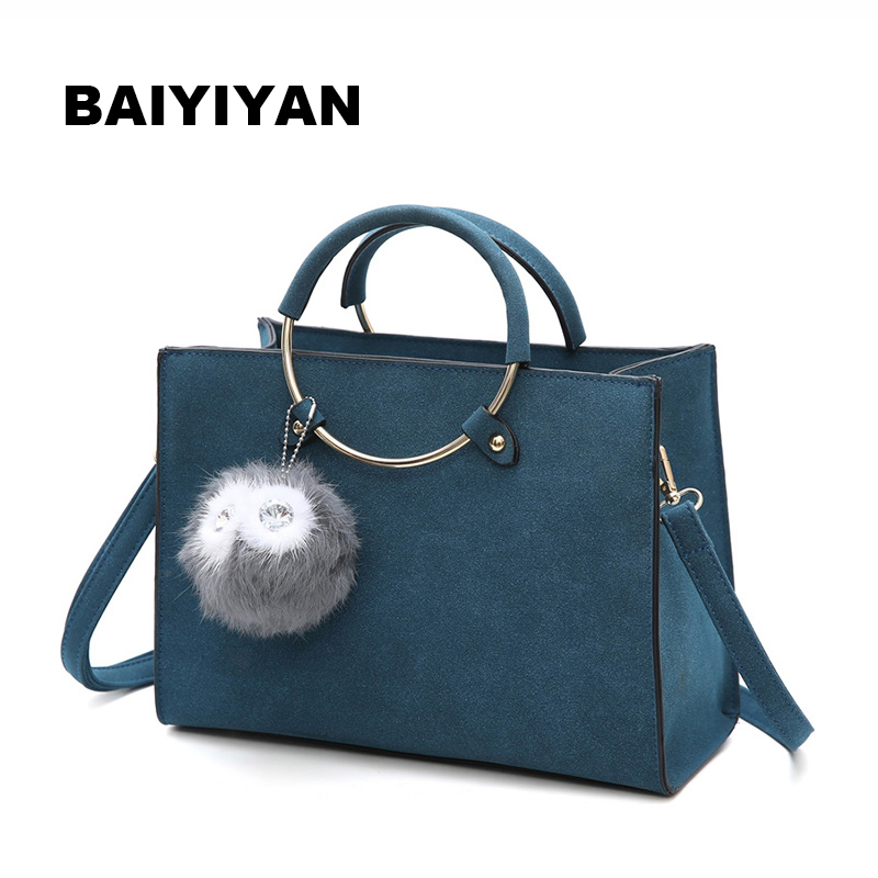 New Women Bag Fashion PU Leather Women's Handbags Bolsas Top-Handle Bags Tote Women Shoulder Messenger Bag