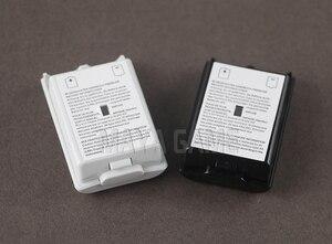 Image 2 - OCGAME 300 pièces/lot noir blanc AA batterie coque couverture arrière support pièces pour xbox360 Xbox 360 contrôleur sans fil