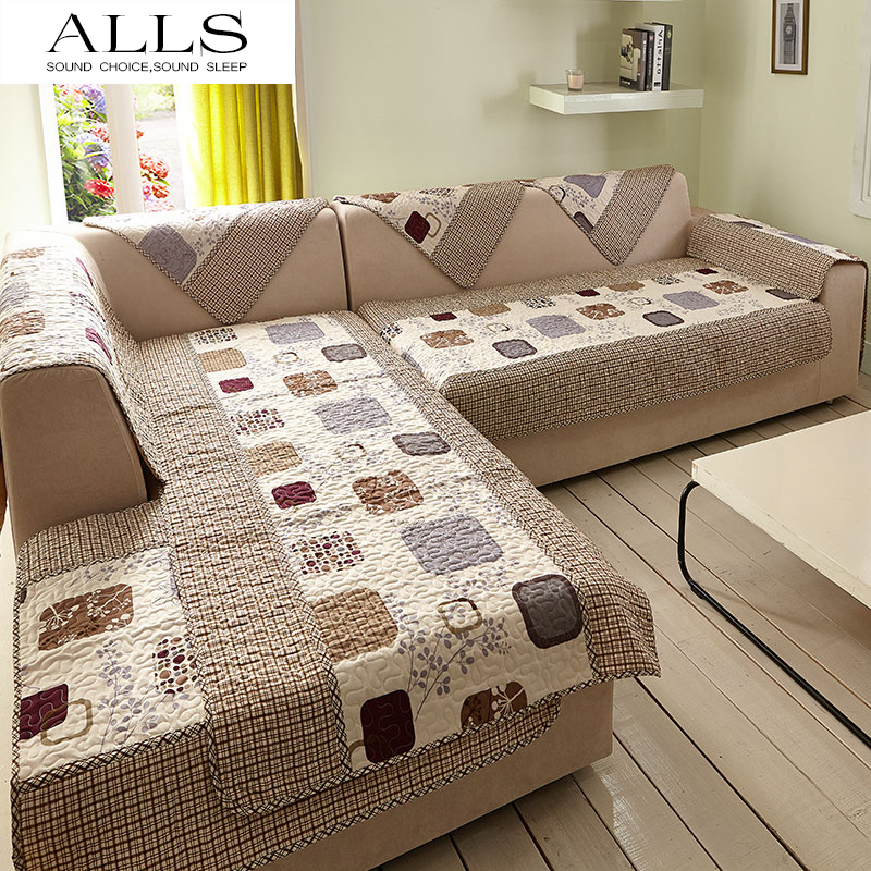 Aliexpress Com 6 Pcs Set Sectional Sofa Cover Couch