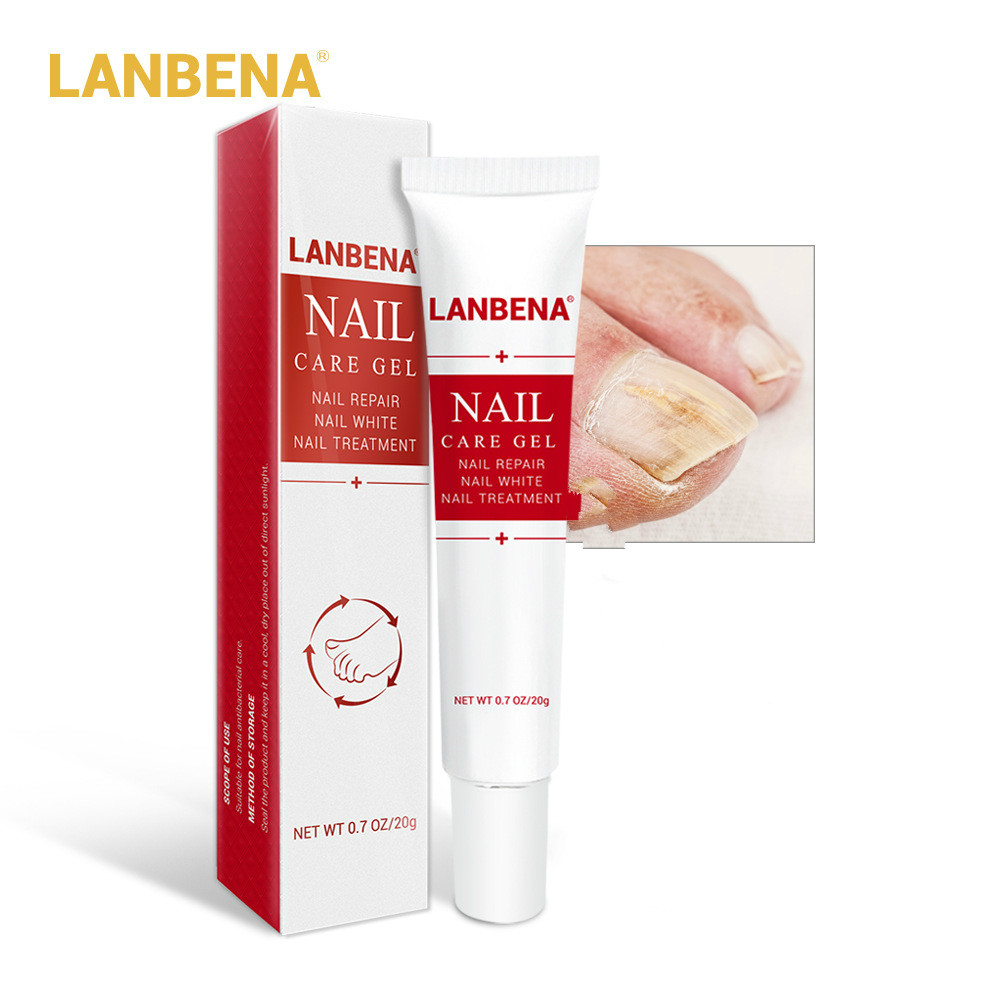 20g LANBENA Repair Nail Treatment Pen Onychomycosis Nail Fungus Infection Gel Effective Anti Fungal Fingernails Toe Nails TSLM2