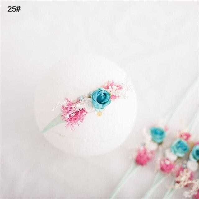 Headband Bunga Busur Elastis  6