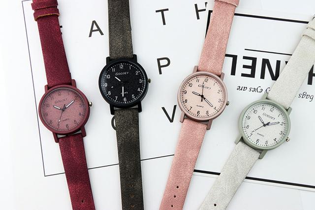 Gogoey Women's Watches Luxury Leather Ladies Watch 2018 Fashion Wristwatch Women Bracelet Watches Clock Relogio Feminino Saat