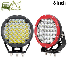 """Xuanba 8"""" Inch 160W Offroad Atv LED Driving Work Light For 12V 24V Trucks Trailers 4WD 4x4 Off Road Freight Car Lights Headlight"""