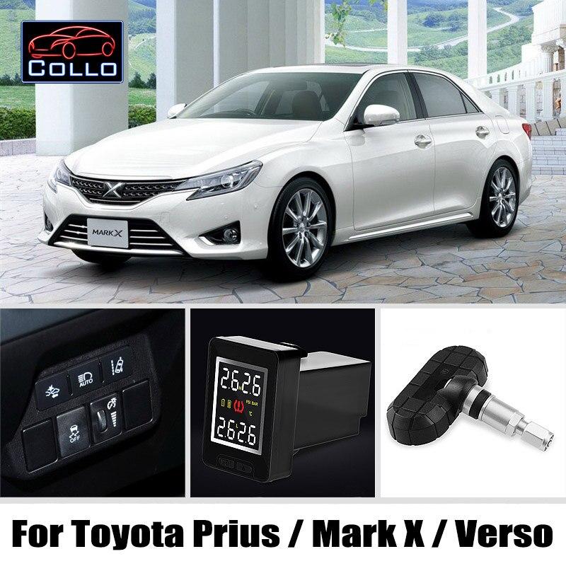 Специальные TPMS для Toyota Prius/Reiz/Mark X/Verso/sportsvan/Беспроводной шин Давление мониторинга Системы внутреннего Датчики