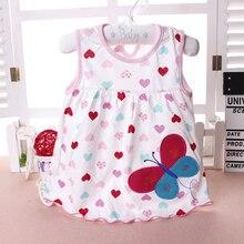 Baby Girl Dress  Summer Girls Dresses Style Infantile Dress Hot Sale Baby Girl Clothes Summer Flower Style Dress