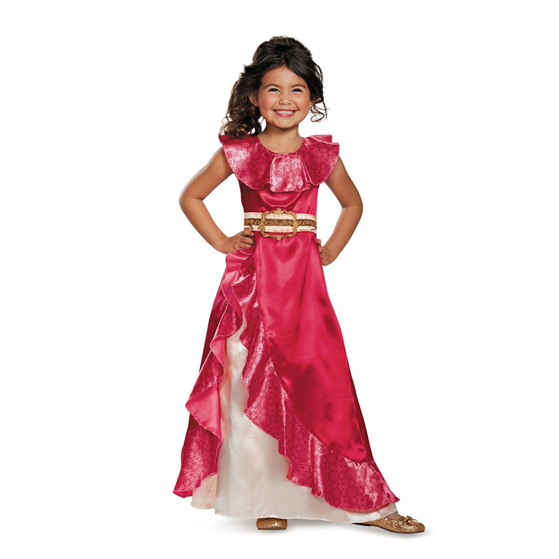 Sale Girls New Favourite Latina Princess Elena From TV Elena Of Avalor Adventure Next Child Halloween Costumes Free Shipping