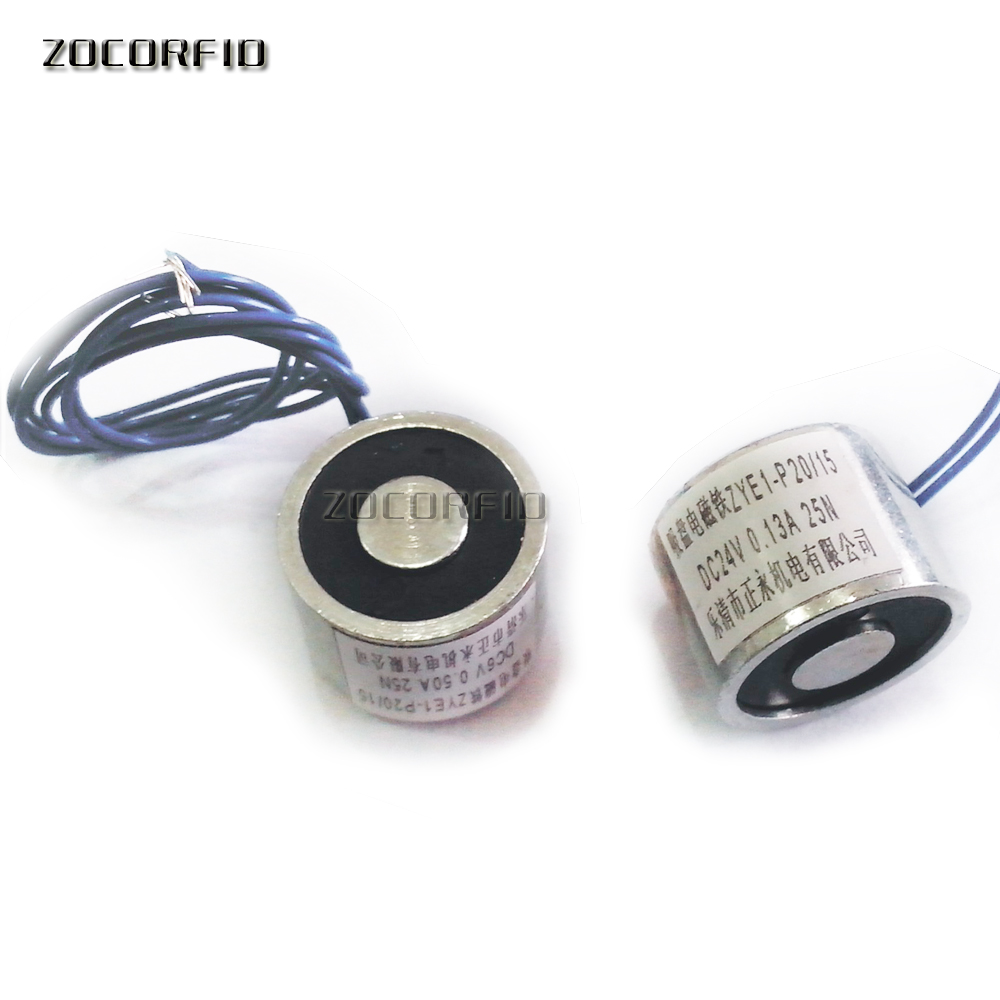 25N Solenoid Electromagnet Suction DC Round P20/15-Dc12v