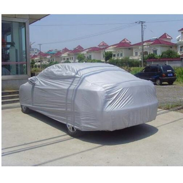 Car cover car styling Indoor Outdoor Full Car Cover Sun UV Snow Dust Resistant Protection Size S M L XL Car Covers Free shipping
