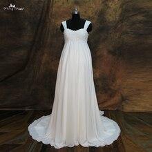 yiaibridal RSW260 Empire Waist Chiffon Wedding Dress For