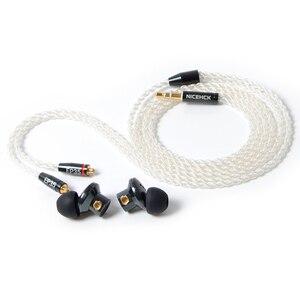 Image 5 - NICEHCK EP35 In Ohr Kopfhörer Einzigen Dynamische Stick HIFI Metall Hohe Auflösung Monitor Headset Abnehmbare MMCX Kabel Versus E700M