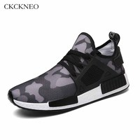 CKCKNEO New Running Shoes Men Breathable Mesh Sneakers Men Light Outdoor Slip-on Run Sports Shoes Fitness Walking Size EU 39-46